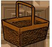 Detail košíku